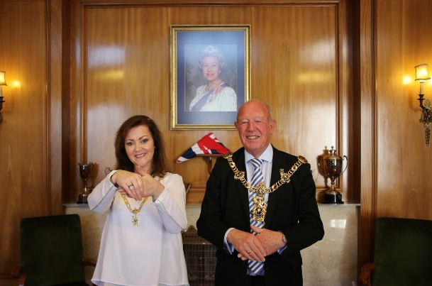 Lord Mayor and Lady Mayoress of Portsmouth